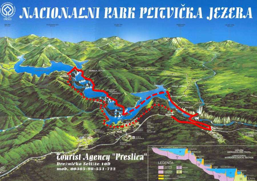 Our Route through Plitvice Lakes National Park, Croatia jpeg