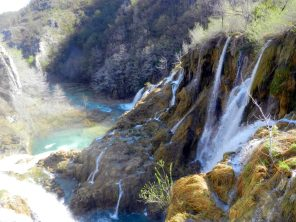 Waterfall, Plitvici Lakes, Croatia