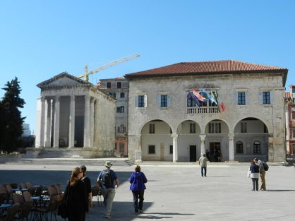 Forum Square, Pula, Istria, Croatia