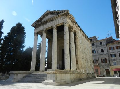 Temple of Augustus, Pula, Istria, Croatia