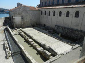 Roman Floor Mosaic, Euphrasian Basilica, Porec, Croatia