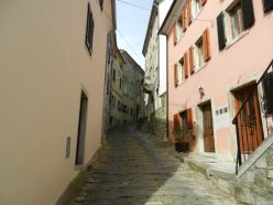 Climbing Motovun, Istria, Croatia