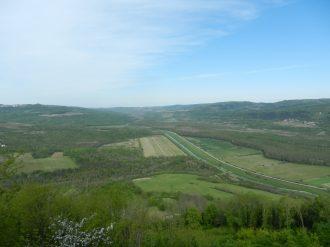 Mirna Valley, Motovun, Istria, Croatia