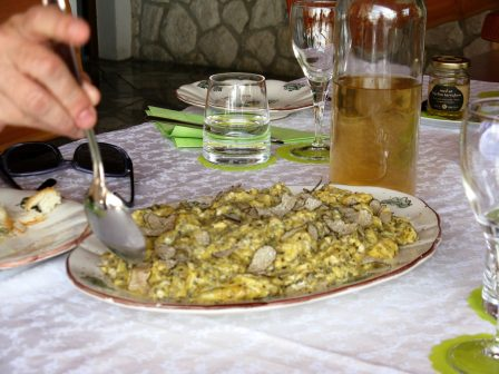 Truffles, Fritaja, Croatia, Istria