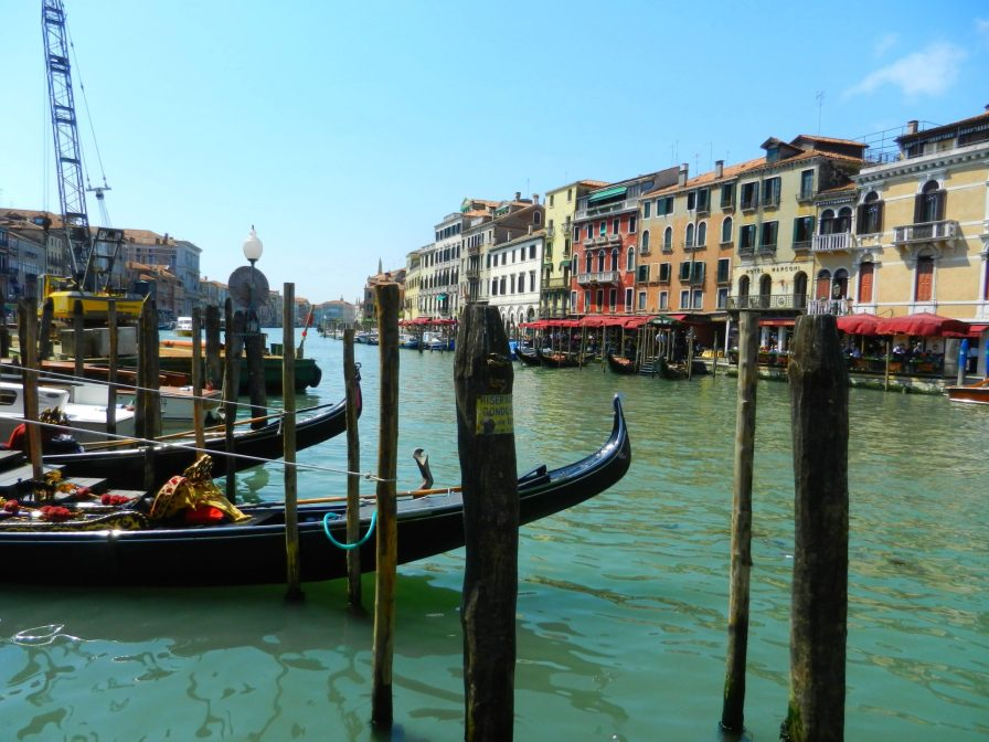 Boats on the Grand Canal, Venice, Italy