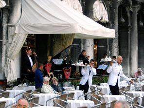 St. Mark's Square Cafe, Venice, Italy
