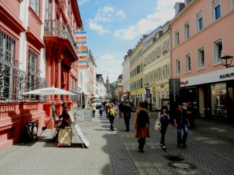 Heidelberg Aldstadt, Germany