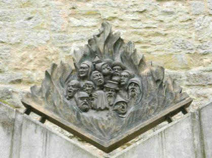 Jewish memorial, Rothenburg, Germany