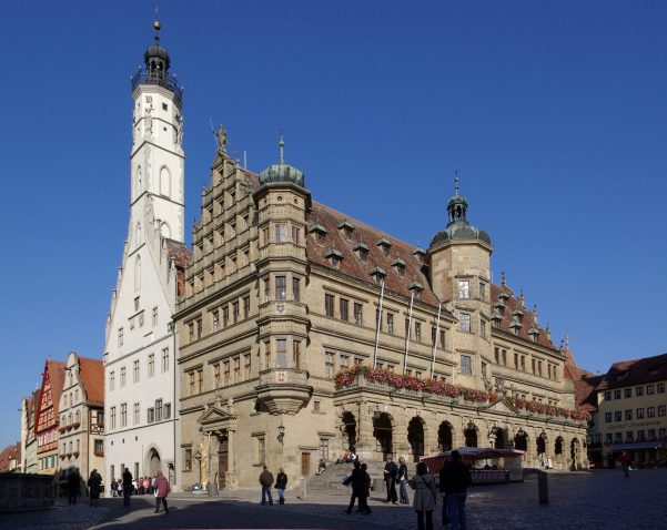 town-hall-rothenburg-germany