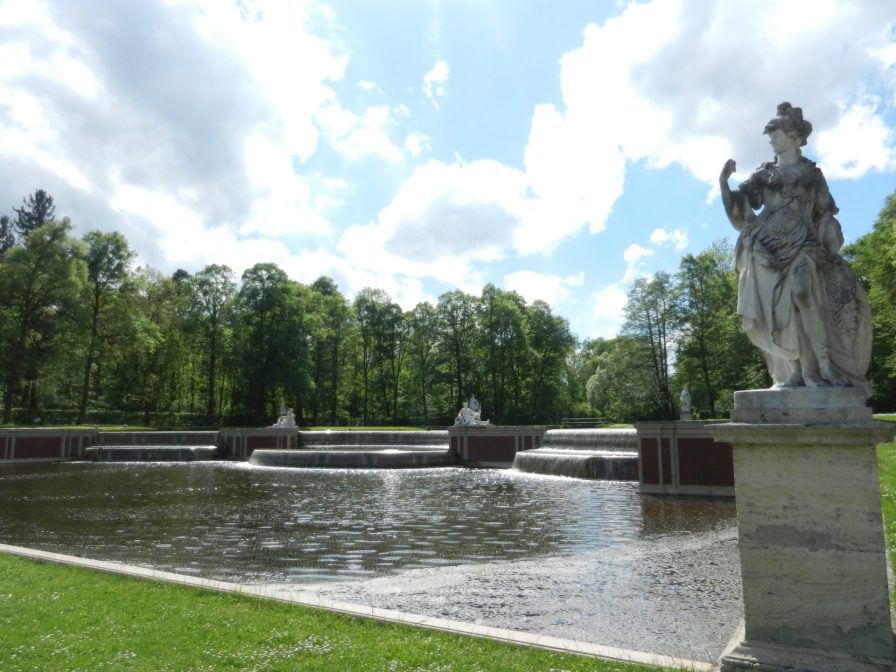 The Grand Cascade, Nymphenburg, Munich, Germany