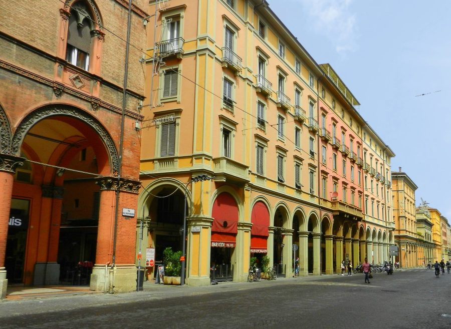 Porticoes, Bologna, Italy