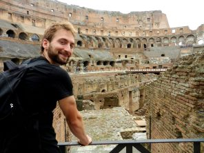 Nathanael, Colosseum, Rome, Italy