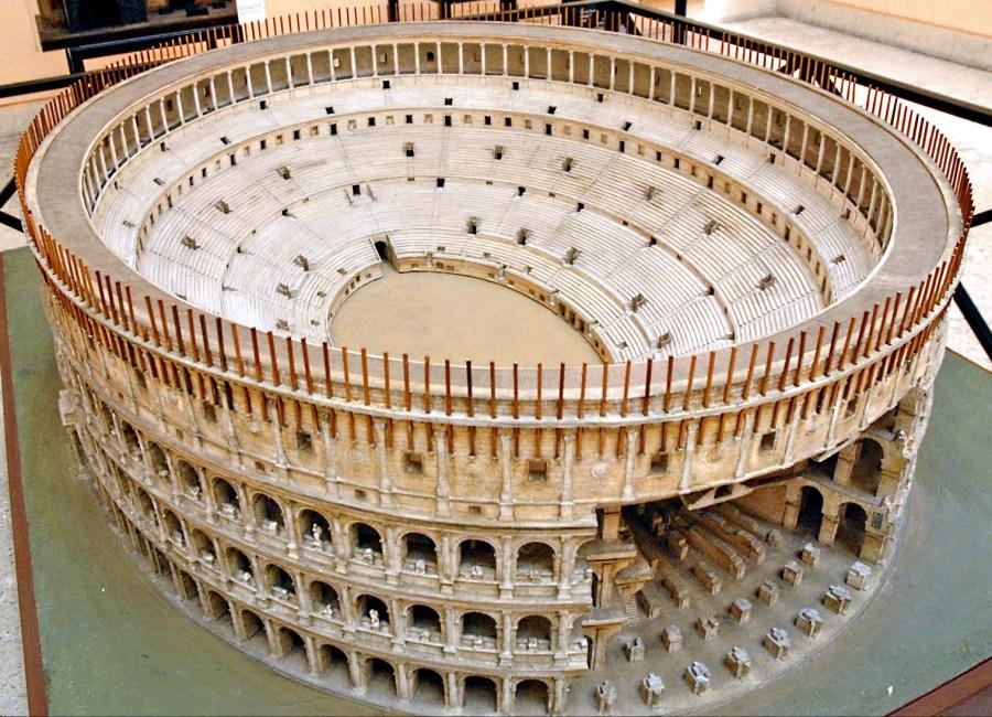 Kolosseum Rekonstruktion