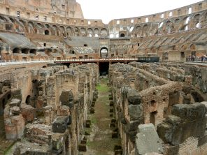 The Hypogeum, Colosseum, Rome, Italy
