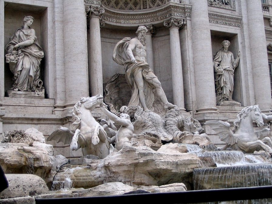Trevi Fountain 2007, Rome, Italy
