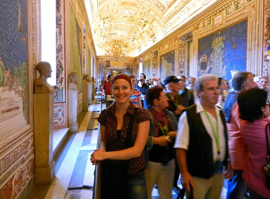 Ashleigh, Map Gallery, Vatican, Italy