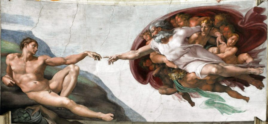 God Creates Adam, Sistine Chapel, Vatican, Italy