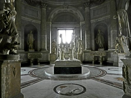Hall of the Chariot, Pio-Clementino Museum, Vatican, Italy