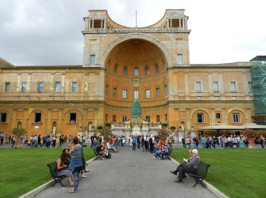 Pinecone Courtyard, Vatican, Italy