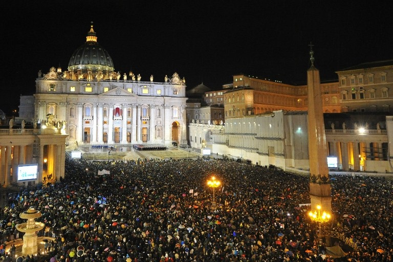 Pope Vote, St. Peter's Square, Vatican, Italy