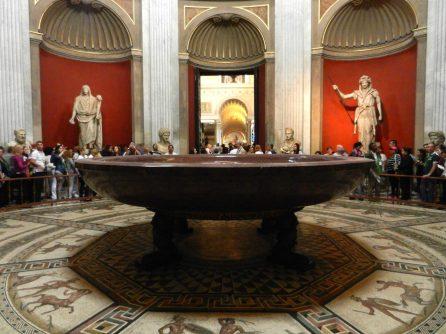Round Hall, Pio-Clementino Museum, Vatican, Italy