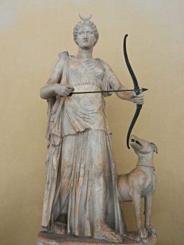 Sculpture of Diana Chiaramonti Museum, Vatican, Italy