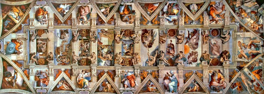 Sistine Chapel ceiling.