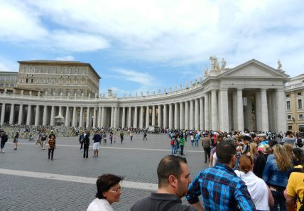 St. Peter's Square, Vatican, Rome, Italy