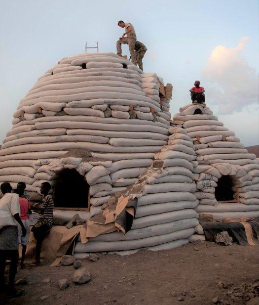 Nader Khalili's Superadobe Construction