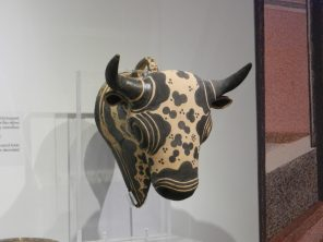 Minoan Bull Scultpure, Heraklion Archaeological Museum, Crete, Greece