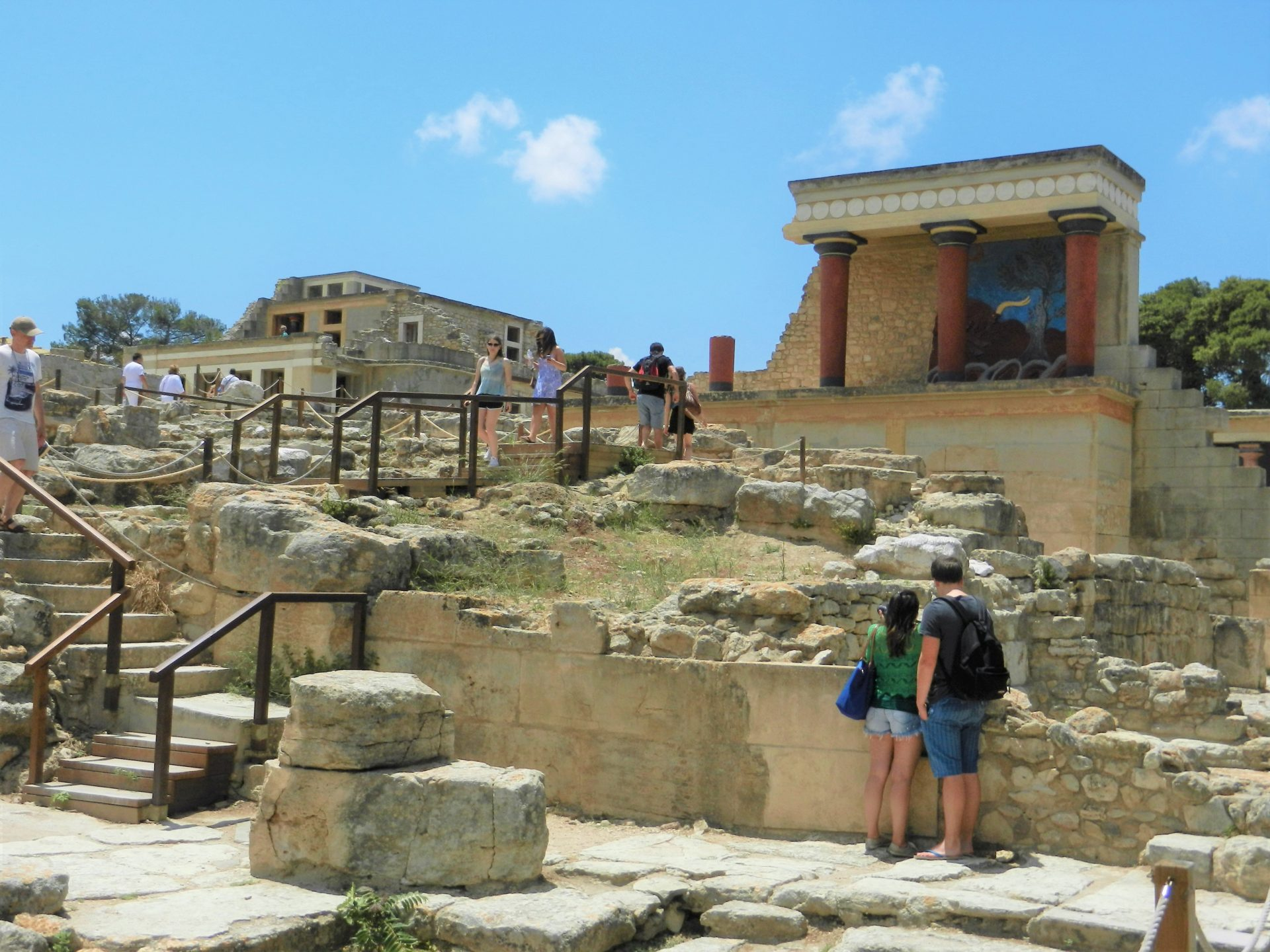 Greece archives the incredibly long journey tourists visit greece to explore archaeological wonders like the acropolis but they often forget where western civilization truly began in minoan crete sciox Images