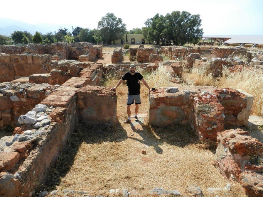 Nathanael, Palace of Malia, Crete, Greece