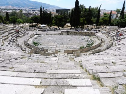 Theatre of Dionysus, South slope Acropolis, Athens, Greece