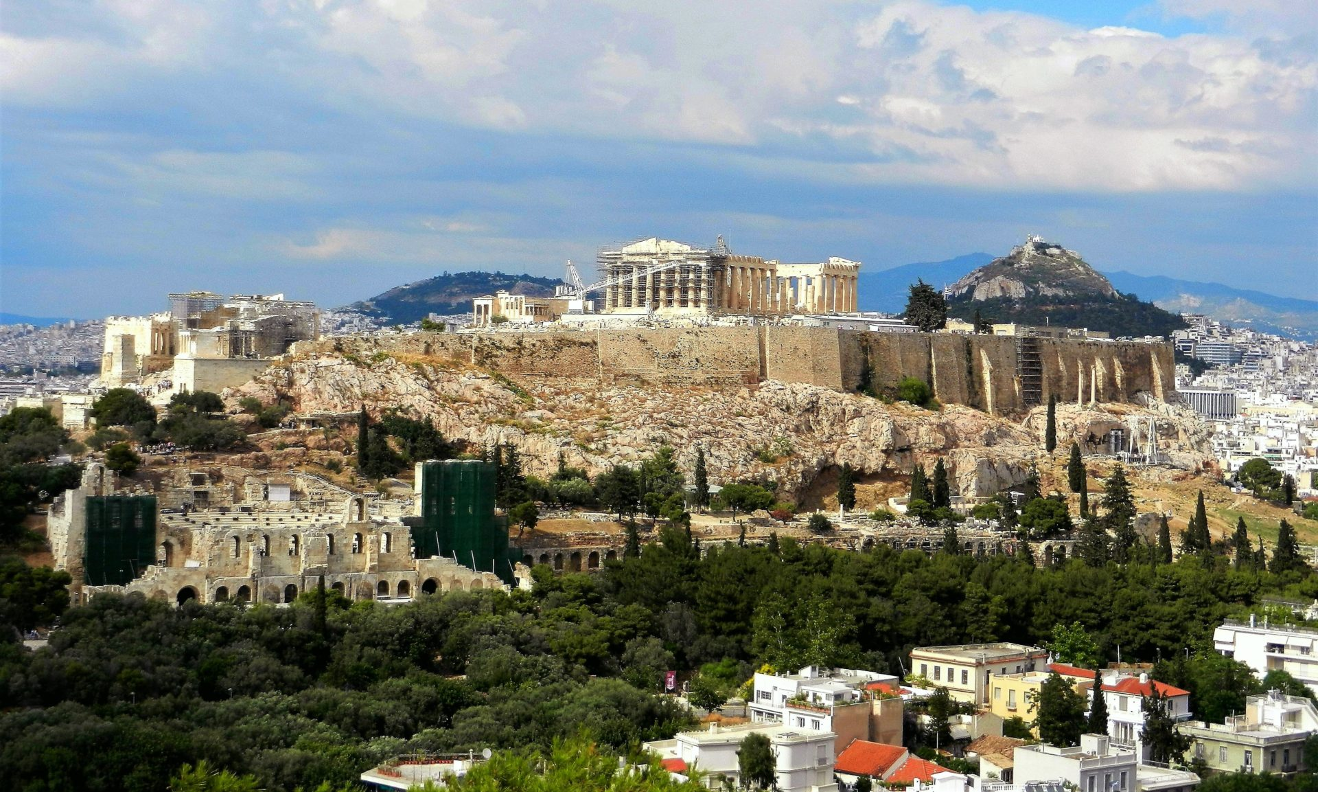 The Ancient Metropolis of Athens - The Incredibly Long Journey