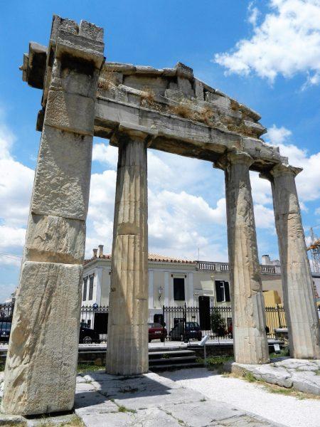 Gate of Athena, Roman Forum, Athens, Greece