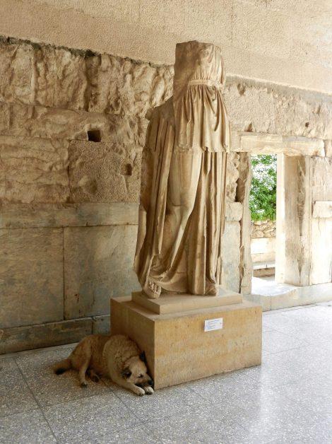 Stoa of Atallos, Athens Ancient Agora, Greece