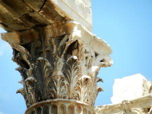 Corinthian Column, Temple of Zeus the Olympian, Athens, Greece