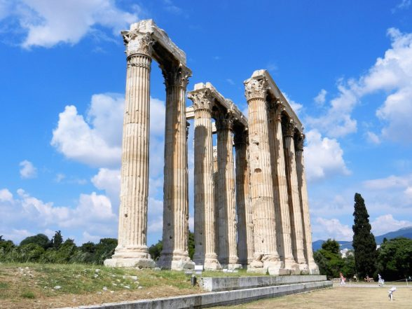 Temple of Zeus the Olympian, Athens, Greece