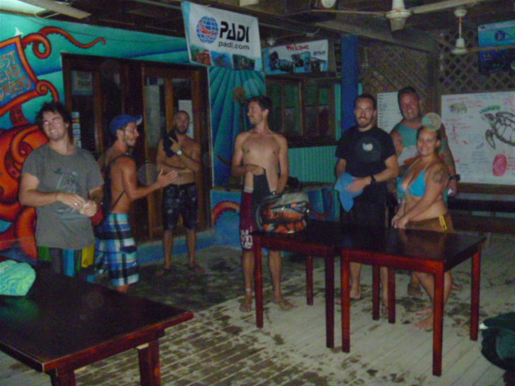 Night Diving in Roatan