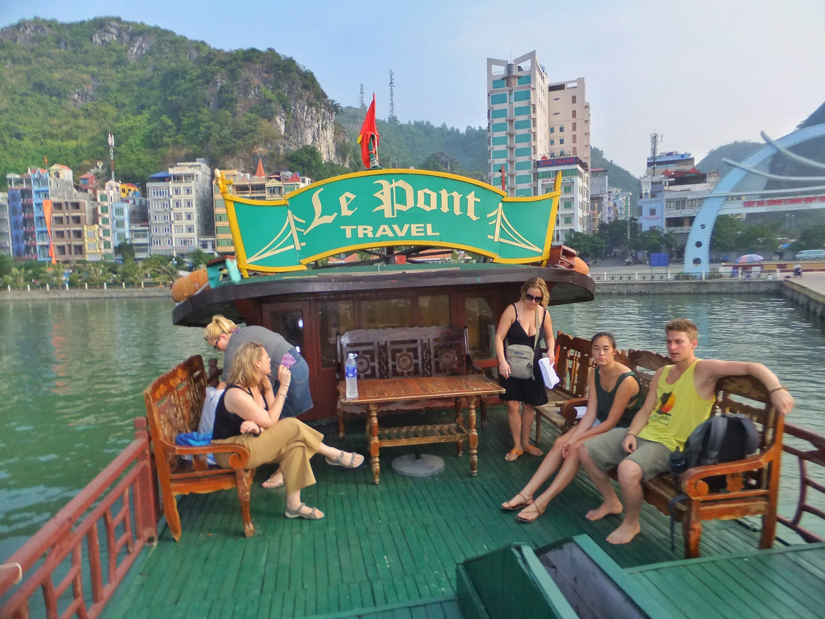 Tour in Halong Bay