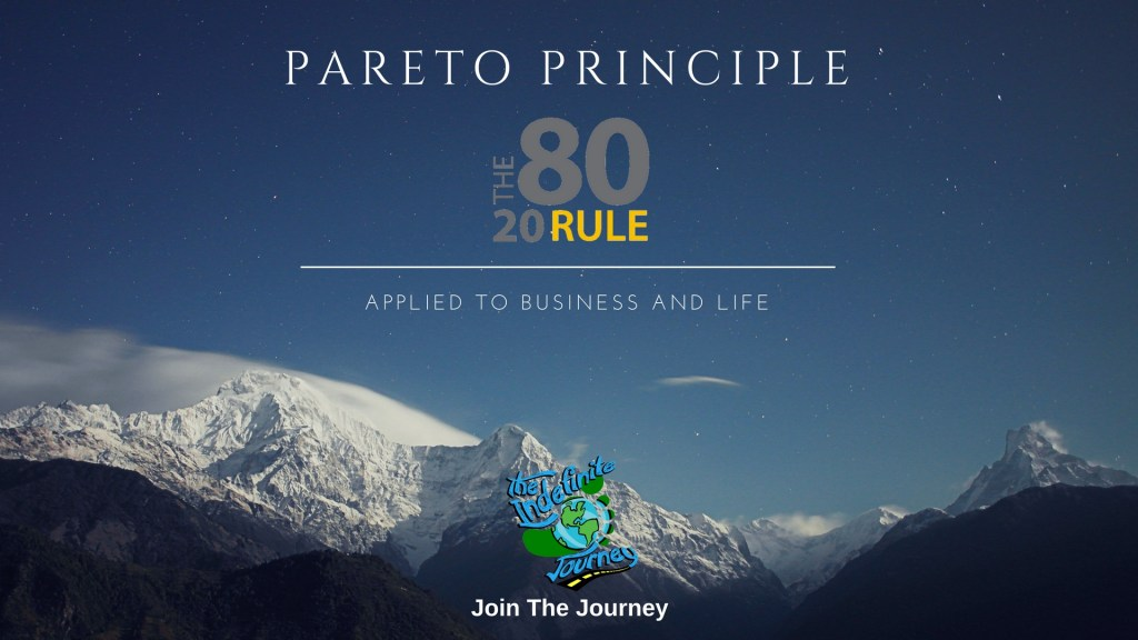 Pareto Principle - The 8020 Rule Applied to Business and Life