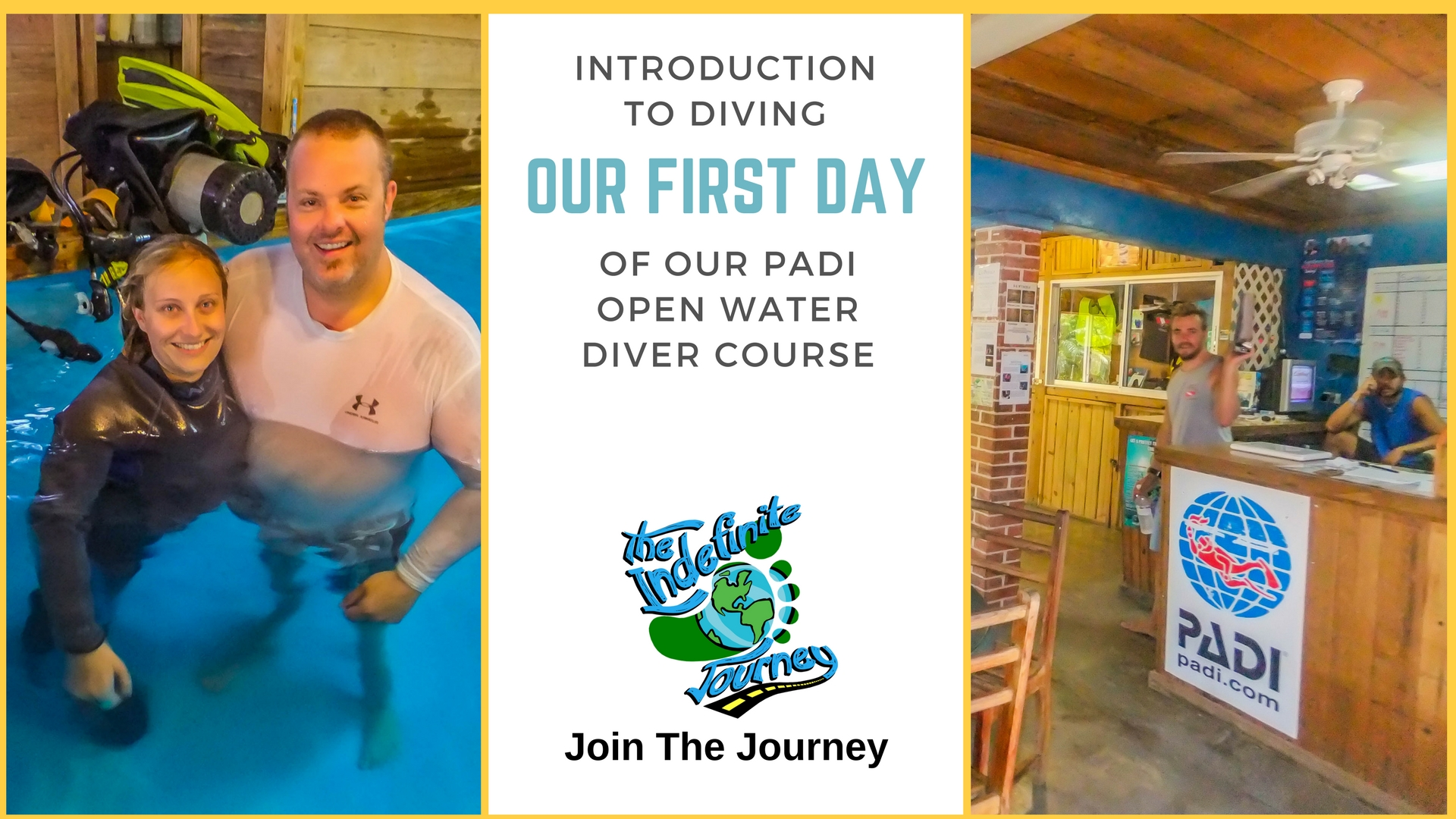 Introduction to Diving- Our First Day Of Our PADI Open Water Diver Course