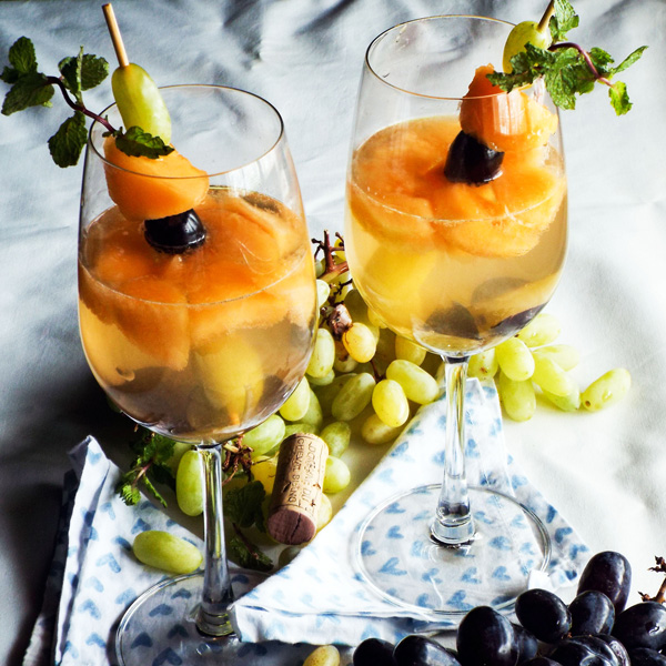 white wine sangria easy quick simple