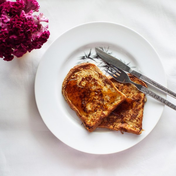 quick healthy french toast