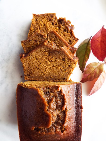 healthier pumpkin bread no butter