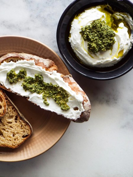 healthier cream cheese labneh yogurt