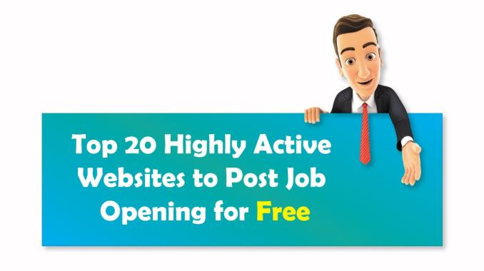 Top 20 Free Job Posting Sites (Highly Active)