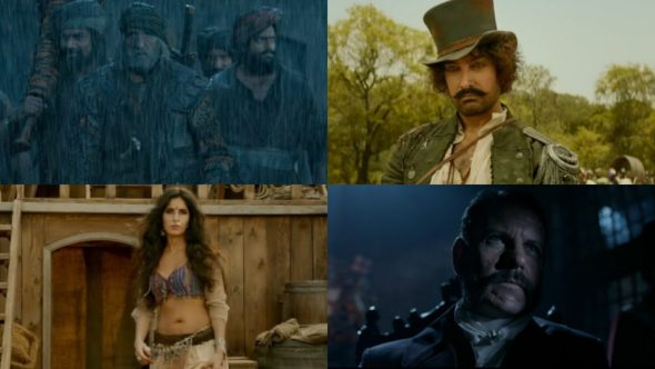 The Thugs Of Hindostan Trailer Is Dominating And Filled With Breathtaking Visuals, Another Magnum opus By Amitabh Bachchan & Aamir Khan