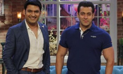 Salman Khan Is The First Guest On Kapil Sharma's New Show
