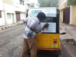 la blanchisserie d'Aygline à Pondichéry